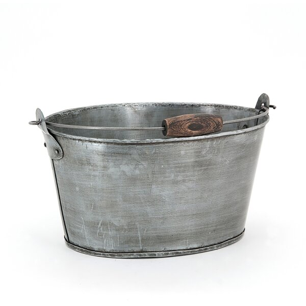 Oval Metal Bucket Wayfair