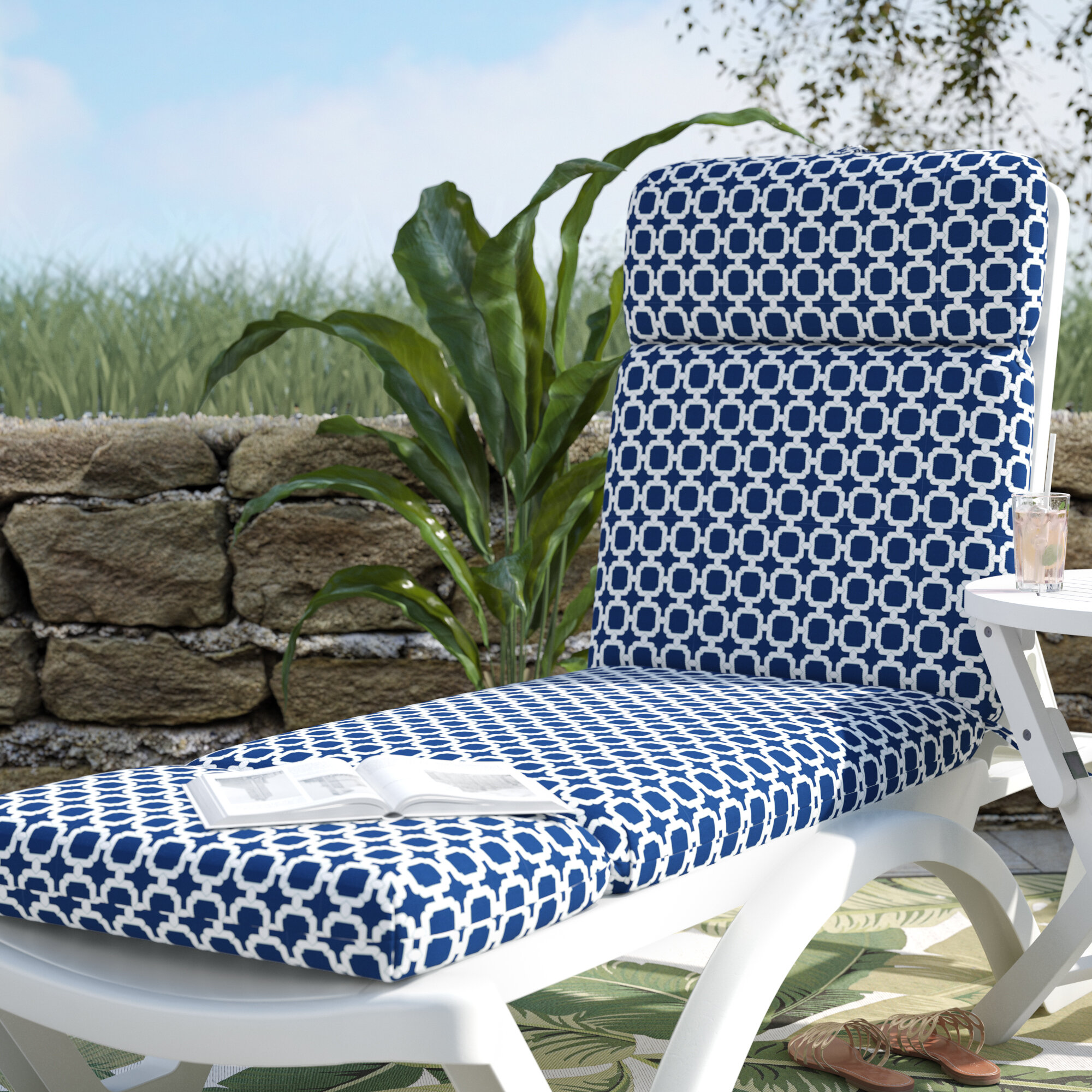 chaise lounge beach cushion towel cover covers chair with