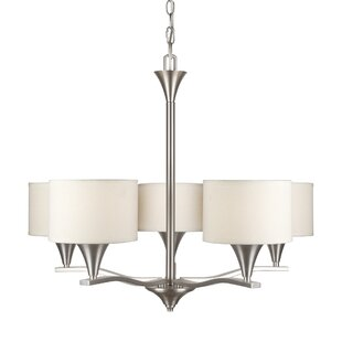 Orren Ellis Canales 5-Light Shaded Chandelier