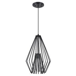 Wrought Studio Purdue Adjustable 1-Light Geometric Pendant