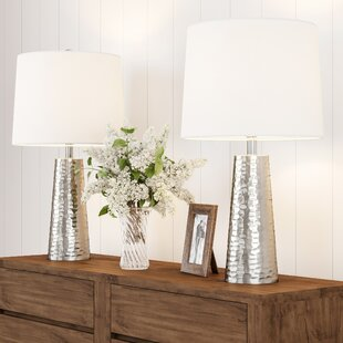 Thaney Flared Drum 26 Table Lamp (Set of 2)