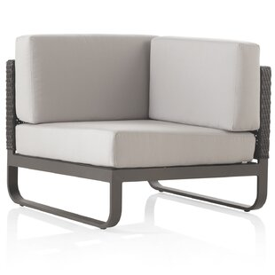 Coughlin Corner Chair With Cushions By Bay Isle Home