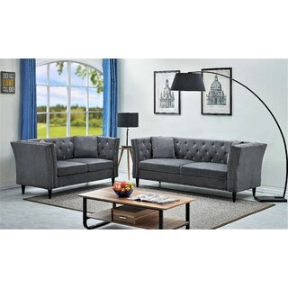 Wetzel Tufted 2 Piece Living Room Set by Rosdorf Park SKU:CB813703 Order