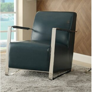Orren Ellis Rayborn Contemporary Tight Back Armchair