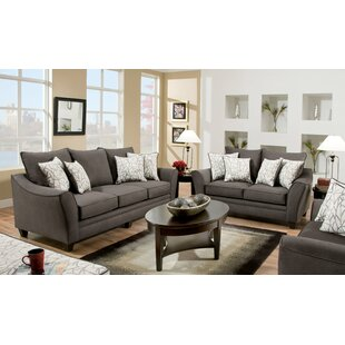 Darby Home Co Yajaira 2 Piece Living Room..
