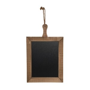 Top Rope Hanger with Wooden Chalkboard