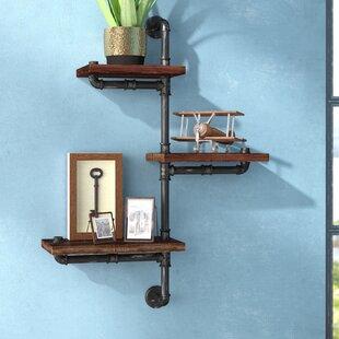 Trent Austin Design 3 Shelves Wood Floati..
