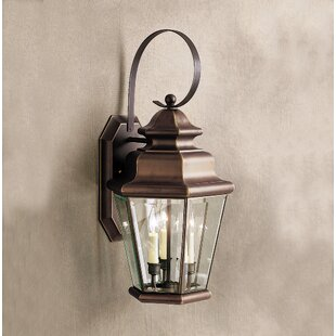 Bigley 3-Light Outdoor Wall Lantern