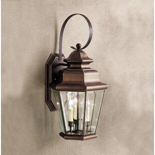 Bigley 3-Light Outdoor Wall Lantern