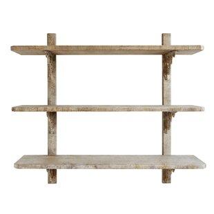 Onasander 3-Tier Wood Wall Shelf by One Allium Way