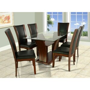 Emma 7 Piece Dining Set by Beverly Fine F..