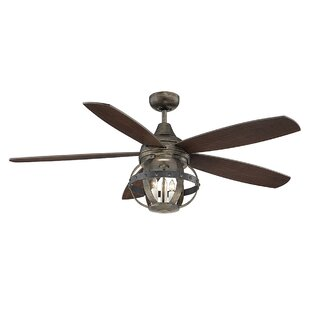 52 Wilburton 5 Blade Ceiling Fan With Remote