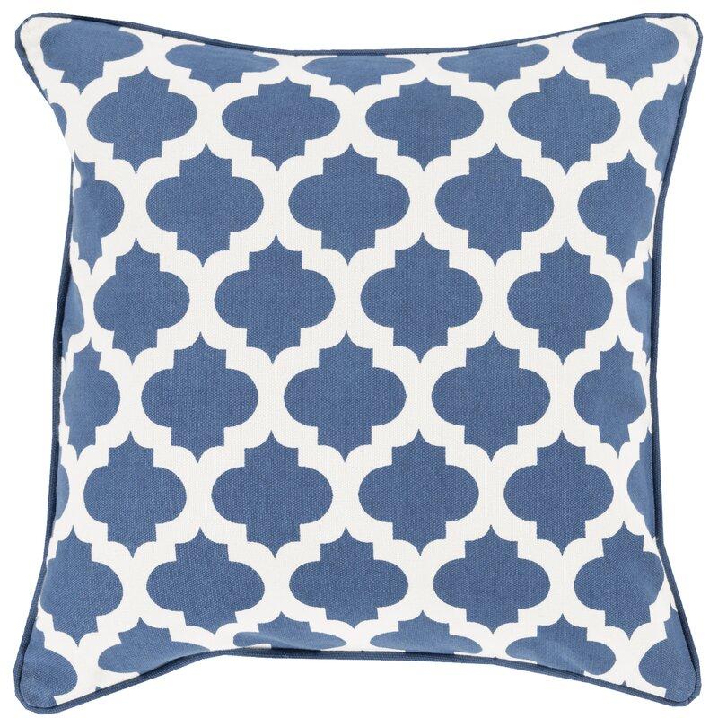 Charlton Home Conatser Cotton Throw Pillow Cover & Reviews