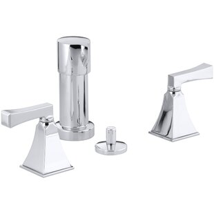 Kohler Memoirs Stately Vertical Spray Bidet Faucet with Deco Lever Handles