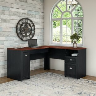 Oakridge L Shaped puter Desk by Beachcrest Home
