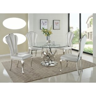 Geir 5 Piece Dining Set Best #1