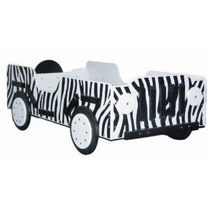 Safari Toddler Car Bed by Just Kids Stuff