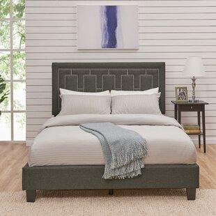Mercer41 Kelsch Queen Upholstered Panel Bed
