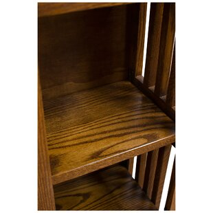 Romriell Mission Spindle Standard Bookcase by Millwood Pines No Copoun
