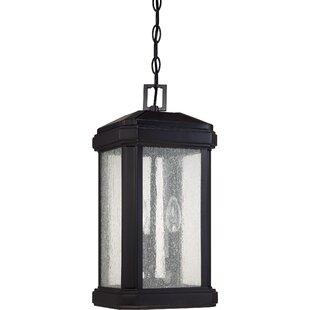 Compare prices Poteete 3-Light Outdoor Hanging Lantern By Red Barrel Studio