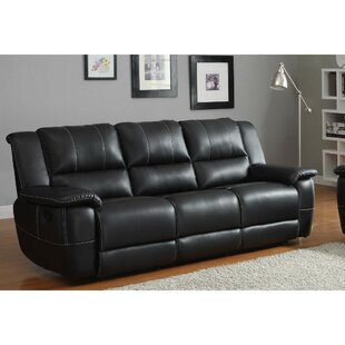 Hoard Double Reclining Sofa Red Barrel Studio