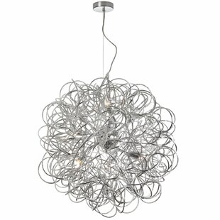 Jennings 8-Light Globe Chandelier ByWilla Arlo Interiors