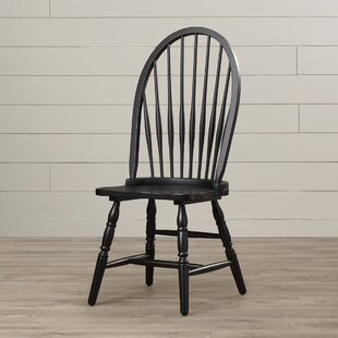 Biermann Solid Wood Dining Chair Andover Mills