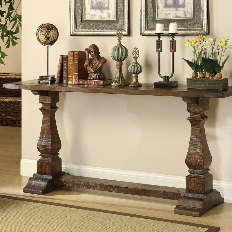 Attrayant Louise Console Table In Brown
