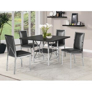 Bramble 5 Piece Dining Set by Orren Ellis