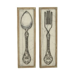 Superior Spoon And Fork Wall Décor Set Of 2