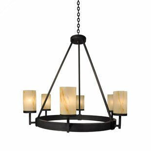 Steel Partners Tahoe 6-Light Shaded Chandelier