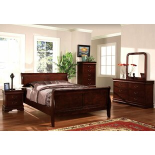 Darby Home Co Elsie Sleigh Bed