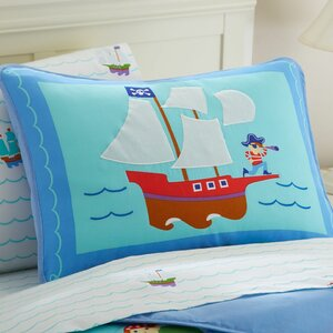 Olive Kids Pirates Toddler Pillow Case