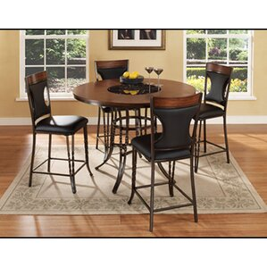 Dynasty 5 Piece Counter Height Dining Set by Ult..