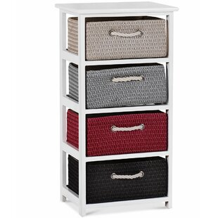 Reviews Briony 4 Drawer Nightstand by Longshore Tides