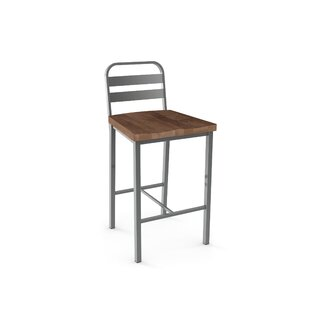 Crystelle 28.75 Bar Stool by 17 Stories
