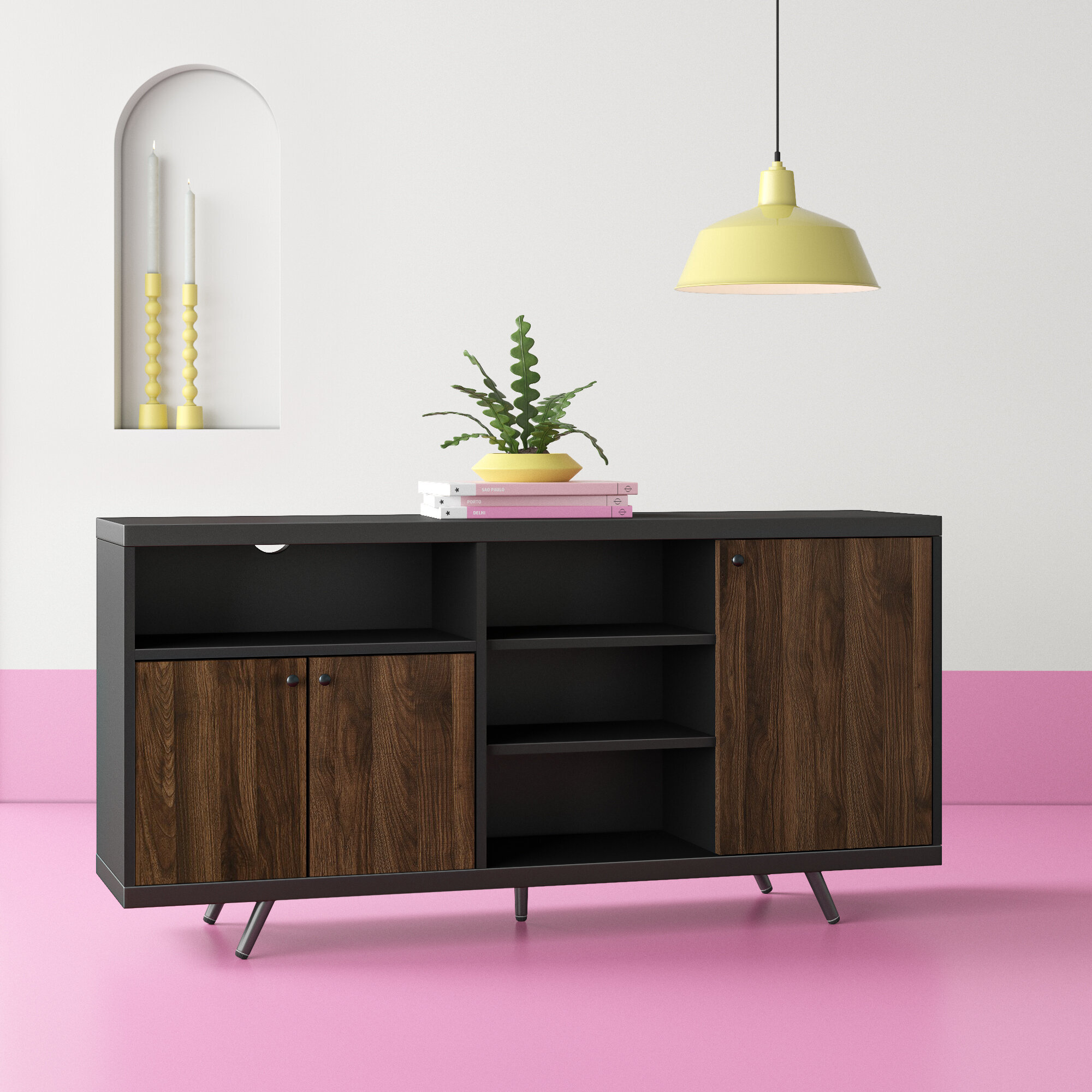 Hashtag Home Eskew 60 Wide Sideboard Reviews Wayfair
