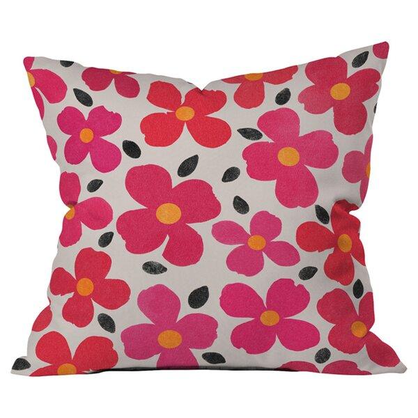 Deny Designs Garima Dhawan Dogwood Berry Outdoor Throw Pillow Wayfair