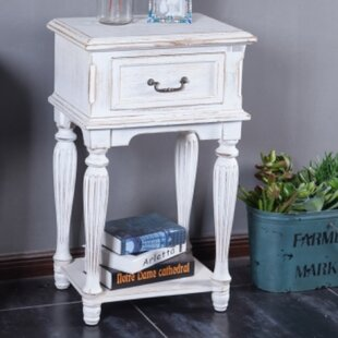 Saugus Wood End Table by August Grove