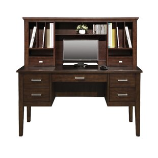 Darby Home Co Eaton Computer Desk with Hutch