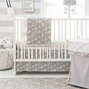 Swayze 3 Piece Crib Bedding Set