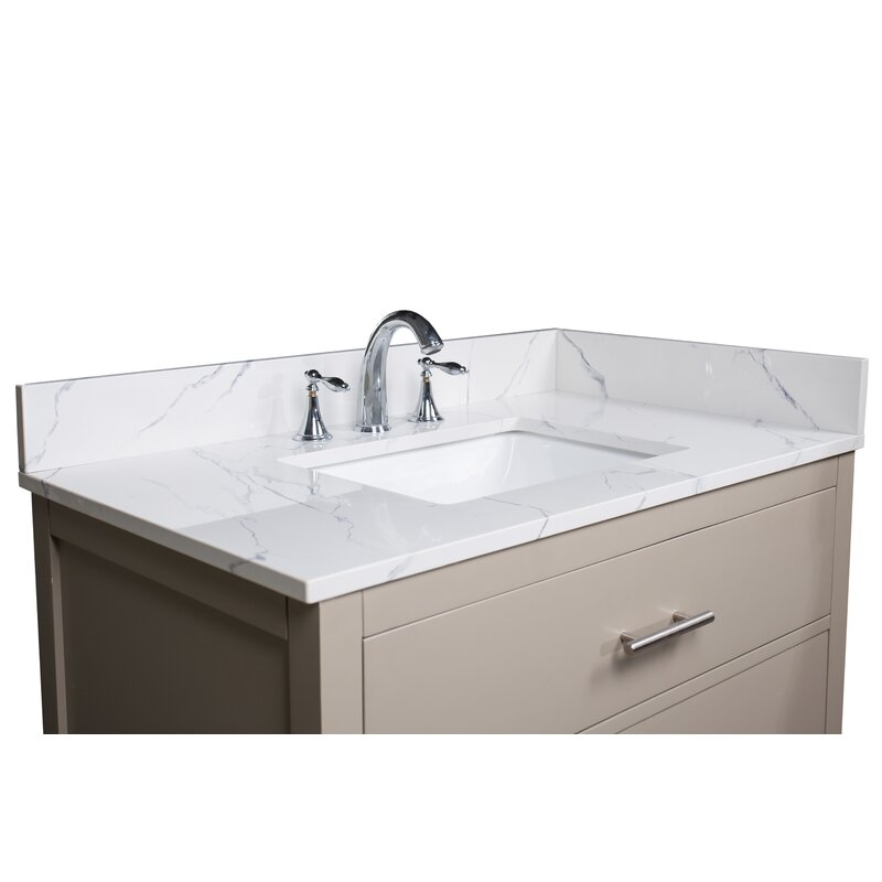 Renaissancevanity 37 Single Bathroom Vanity Top Reviews Wayfair
