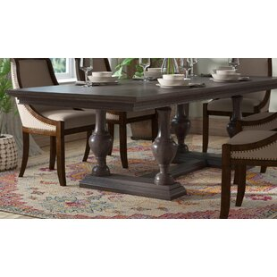 Low priced Dezirae Extendable Dining Table By World Menagerie