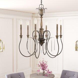 Compare & Buy Tamera 6-Light Chandelier By Lark Manor