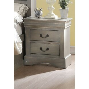 Wysocki 2 Drawer Nightstand