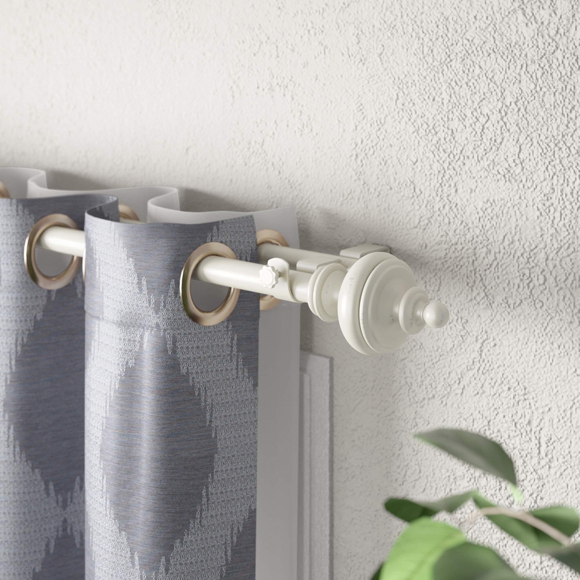 Types Of Curtain Rods Wayfair