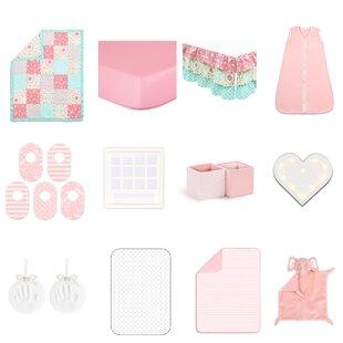 Comparison Gia Essentials 18 Piece Crib Bedding Set ByThe Peanut Shell