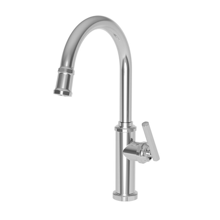 Heaney Pull Down Single Handle Kitchen Faucet