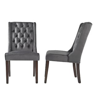 Eidelweiss Side Chair (Set of 2) by Three Posts
