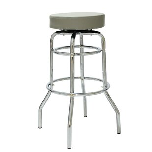 Donnell 30.42 Swivel Bar Stool (Set of 2) by Ebern Designs